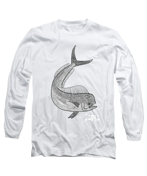 Tribal Mahi  Long Sleeve T-Shirt