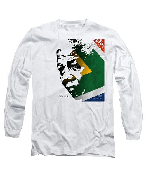 tribute to Nelson Mandela Long Sleeve T-Shirt