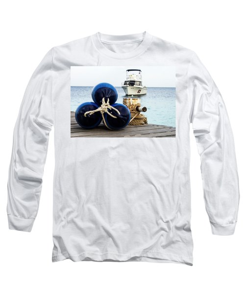 Long Sleeve T-Shirt featuring the photograph Triple Bumpers by Jean Noren