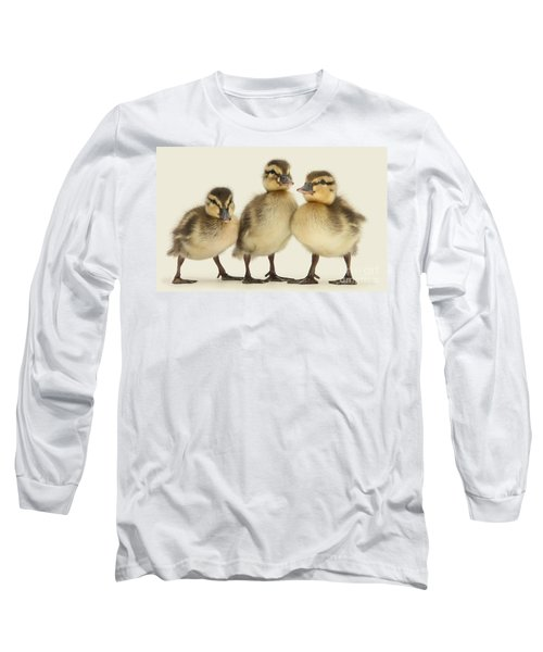 Triple Ducklings Long Sleeve T-Shirt