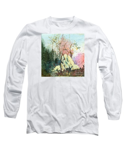 Triptych Panel 1 Long Sleeve T-Shirt