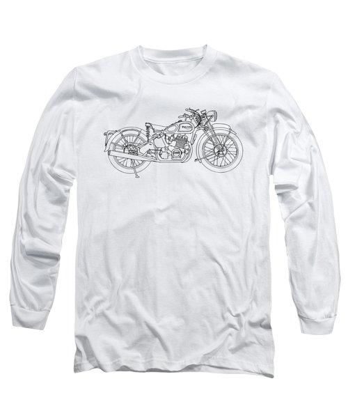 Triumph Laverda Long Sleeve T-Shirt