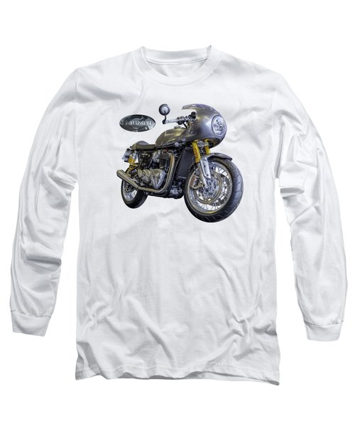 Triumph Thruxton R Long Sleeve T-Shirt