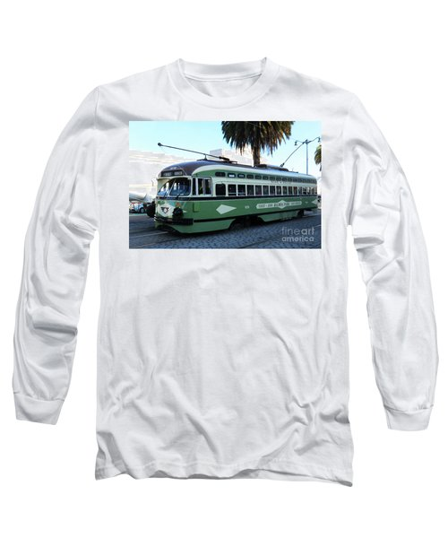 Long Sleeve T-Shirt featuring the photograph Trolley Number 1078 by Steven Spak