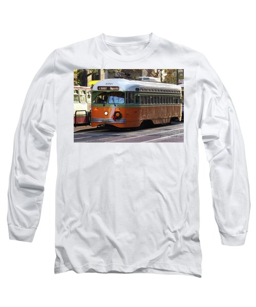Long Sleeve T-Shirt featuring the photograph Trolley Number 1080 by Steven Spak
