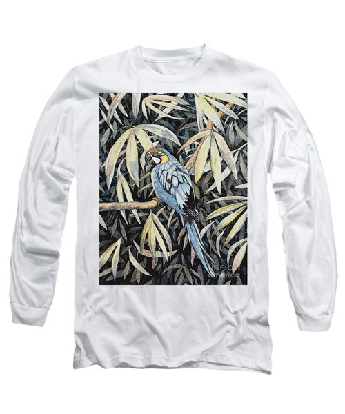 Tropical Adventure Long Sleeve T-Shirt by Martha Ayotte