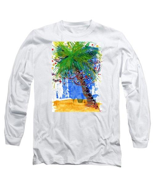 Tropical Christmas  Long Sleeve T-Shirt