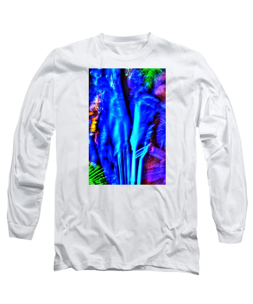 Long Sleeve T-Shirt featuring the photograph Tropical Lightshow  by Richard Ortolano
