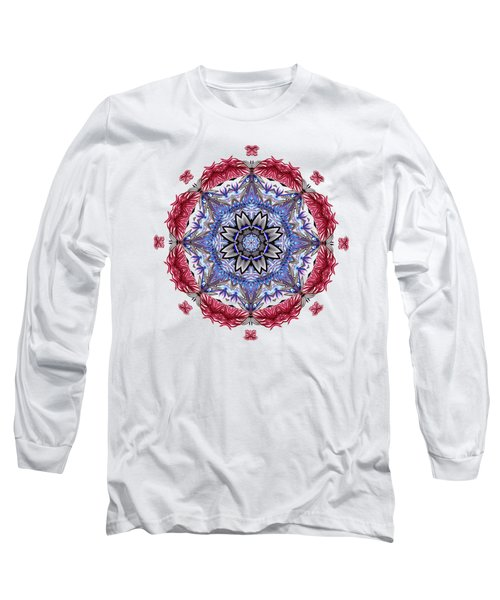 Tropical Mandala By Kaye Menner Long Sleeve T-Shirt