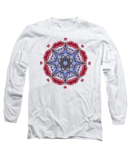 Tropical Mandala By Kaye Menner Long Sleeve T-Shirt
