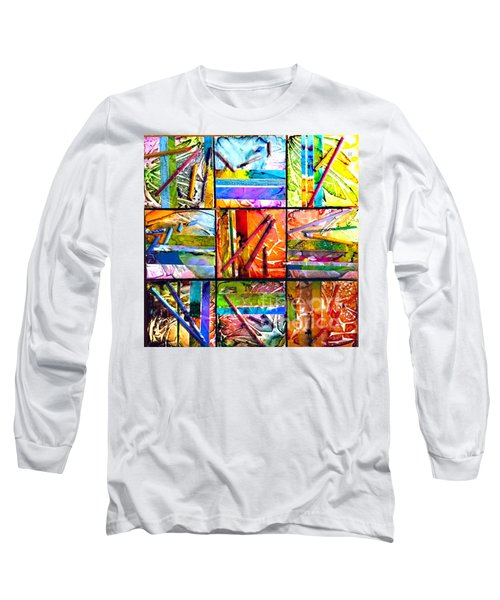 Tropical Stix Long Sleeve T-Shirt by Alene Sirott-Cope