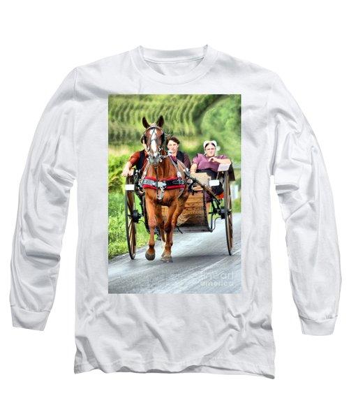 Trotting Along Long Sleeve T-Shirt
