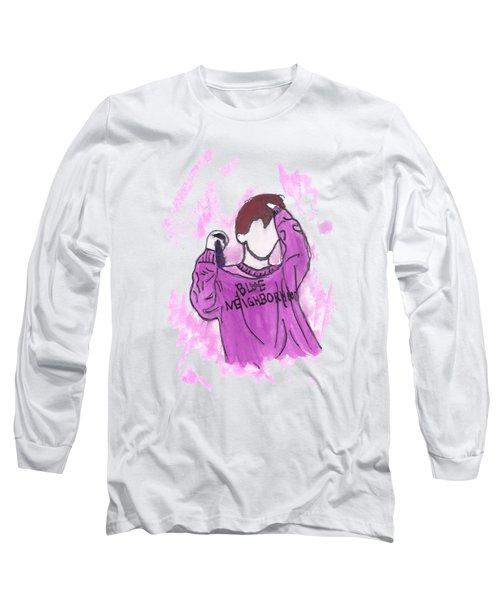 Troye Sivan Blue Neighborhood Long Sleeve T-Shirt