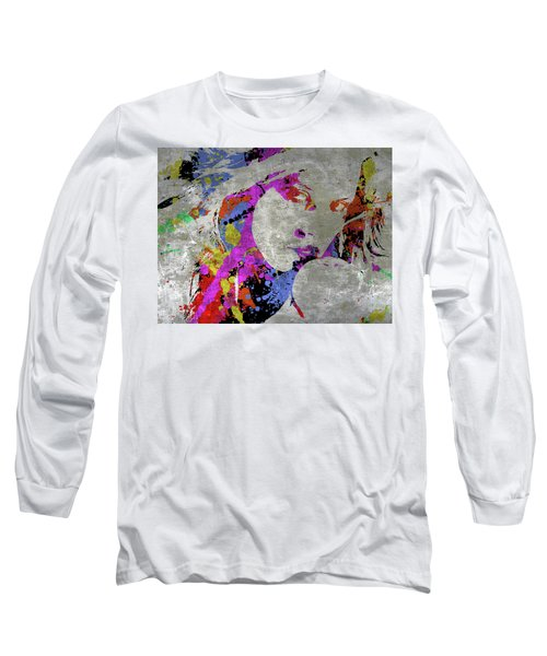 True Colors On Silver Let Me Paint You Long Sleeve T-Shirt