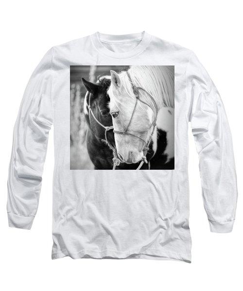 True Friends Long Sleeve T-Shirt by Sharon Jones