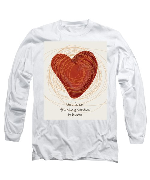 Long Sleeve T-Shirt featuring the painting True Love by Frank Tschakert
