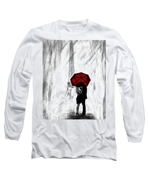 Long Sleeve T-Shirt featuring the painting Truly All Yours by Leslie Allen