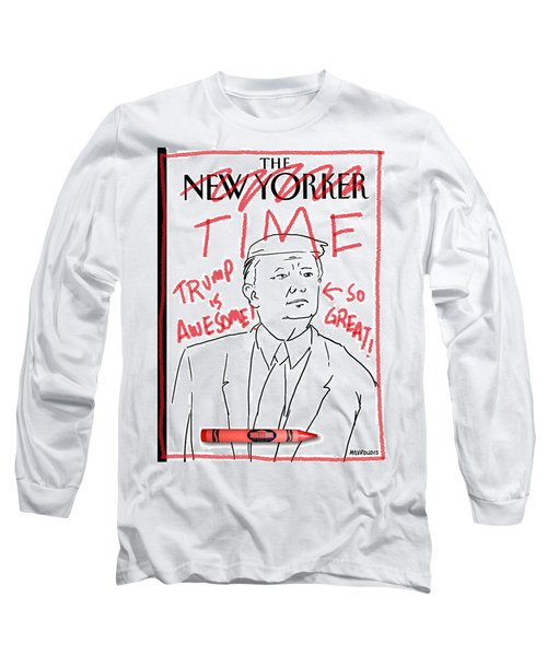 Trump Time Long Sleeve T-Shirt