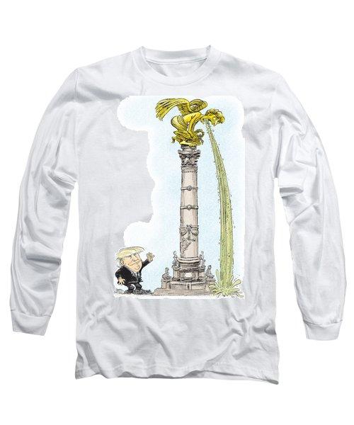 Trump Visits Mexico Long Sleeve T-Shirt