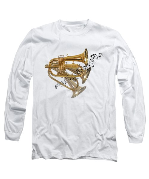 Trumpet Fanfare Long Sleeve T-Shirt