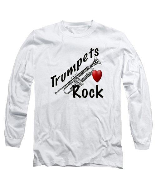 Trumpets Rock Long Sleeve T-Shirt