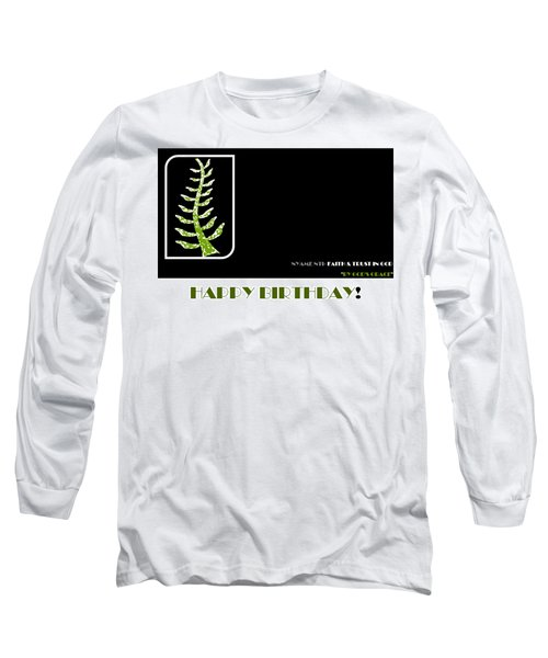 Trust In God Long Sleeve T-Shirt