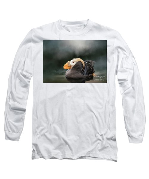 Tufted Puffin Long Sleeve T-Shirt
