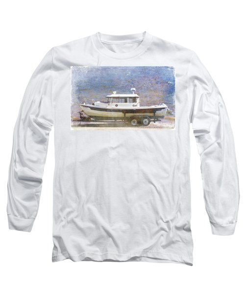 Tugboat Long Sleeve T-Shirt by Cynthia Powell