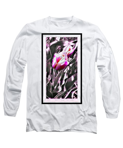 Tulip In Magenta Long Sleeve T-Shirt