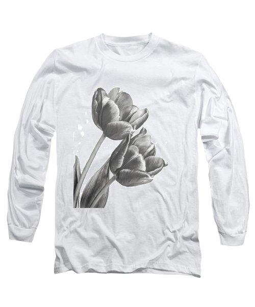 Tulip Sketch Long Sleeve T-Shirt