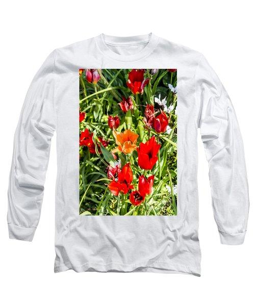 Tulip - The Orange One 03 Long Sleeve T-Shirt
