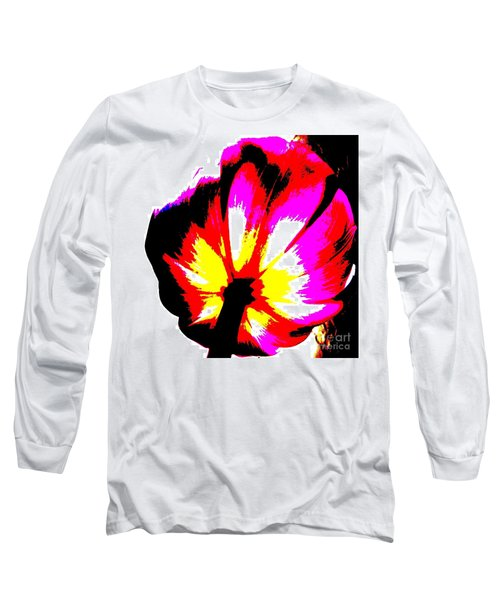Tulip Long Sleeve T-Shirt by Tim Townsend