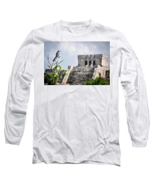 Tulum Mayan Ruins Long Sleeve T-Shirt