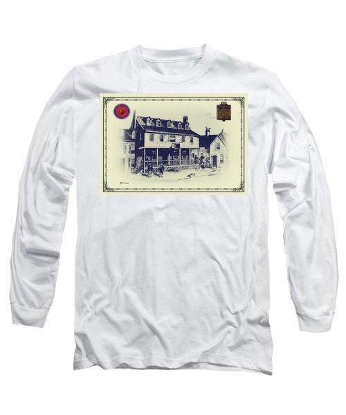 Tun Tavern - Birthplace Of The Marine Corps Long Sleeve T-Shirt