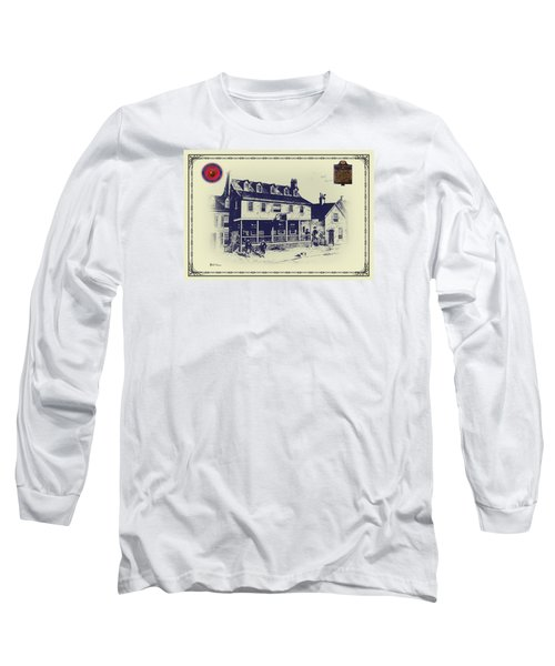 Tun Tavern - Birthplace Of The Marine Corps Long Sleeve T-Shirt