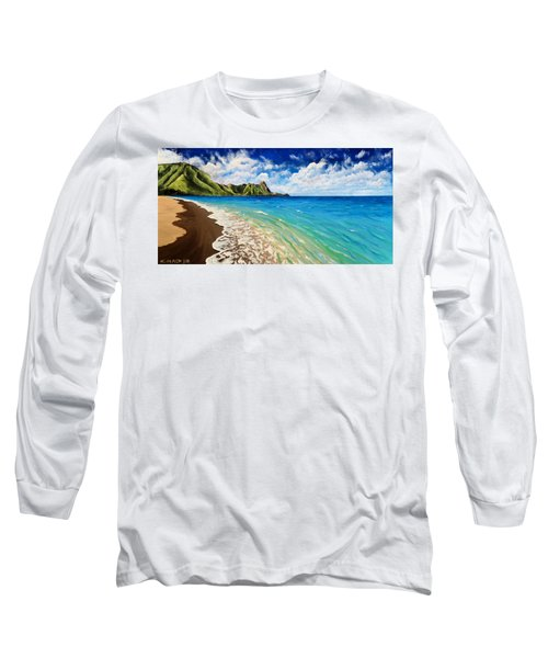 Tunnels Beach Long Sleeve T-Shirt