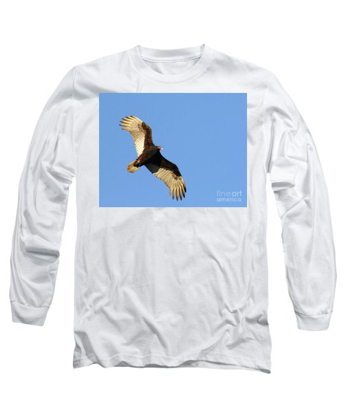 Turkey Vulture Long Sleeve T-Shirt by Debbie Stahre