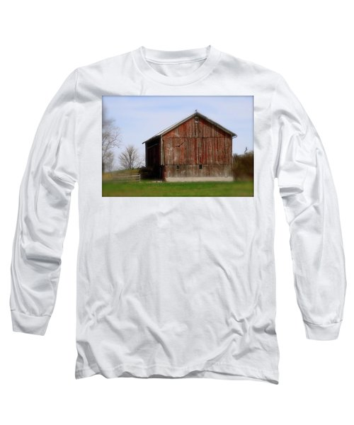 Turkey Vultures Hovering Around The Barn Long Sleeve T-Shirt