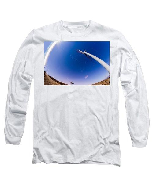 Turning Night Into Day Long Sleeve T-Shirt