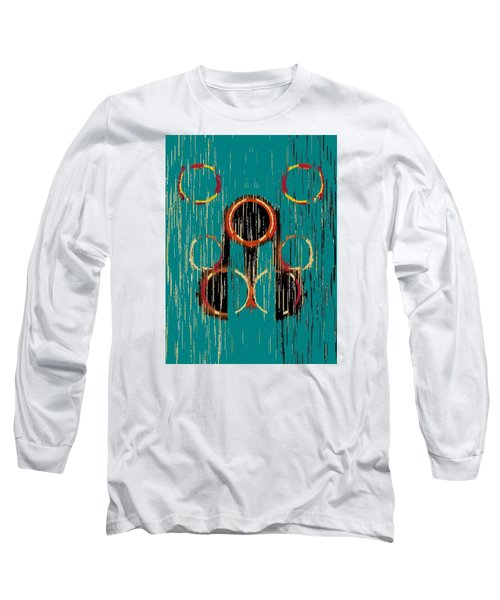 Turquoise Rings Long Sleeve T-Shirt
