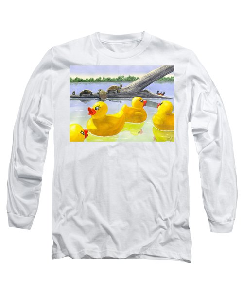 Turtle Log Long Sleeve T-Shirt