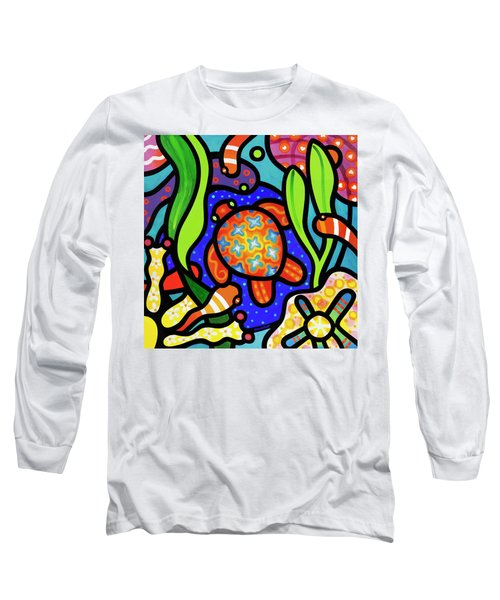 Turtle Reef Long Sleeve T-Shirt