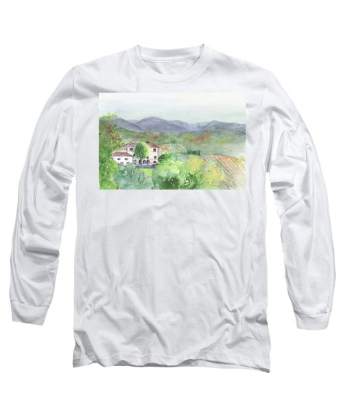 Tuscan Vineyards Long Sleeve T-Shirt