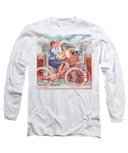 Tweed Runners On Pashleys Long Sleeve T-Shirt