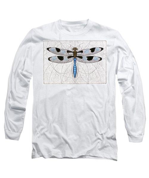 Twelve Spotted Skimmer Long Sleeve T-Shirt