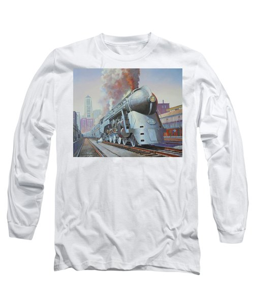 Twenthieth Century Limited Long Sleeve T-Shirt by Mike Jeffries