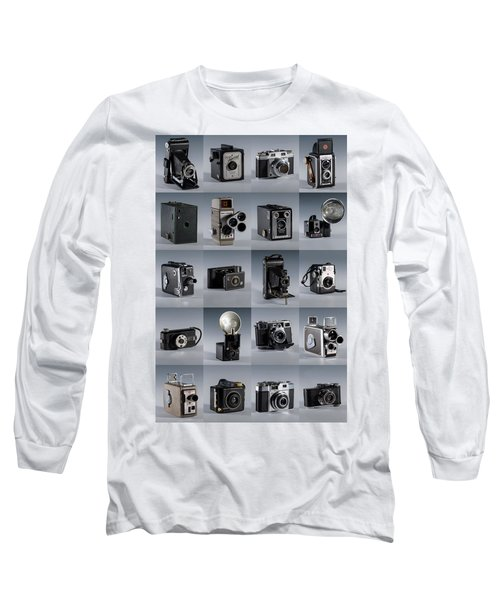 Twenty Old Cameras - Color Long Sleeve T-Shirt