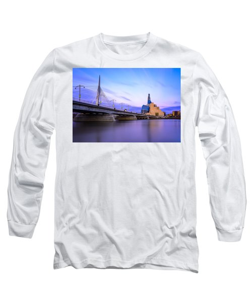 Twilight In Winnipeg Long Sleeve T-Shirt