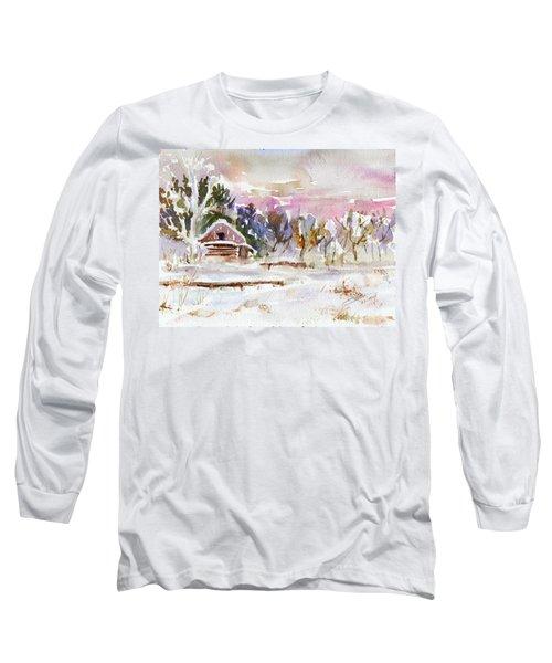 Twilight Serenade I Long Sleeve T-Shirt by Xueling Zou