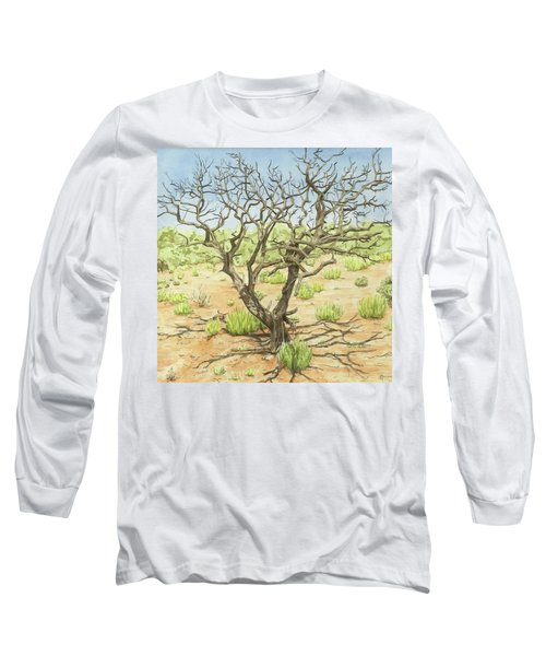 Twisted  Long Sleeve T-Shirt